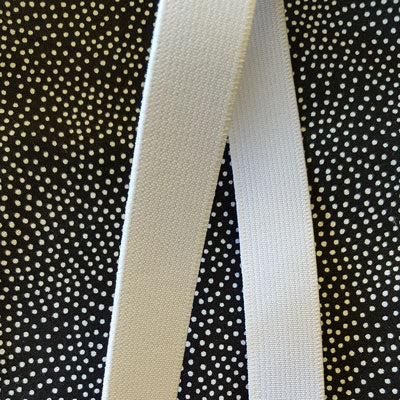 White Elastic 20mm Wide