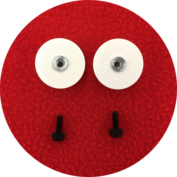 Raspberry Cabochon Puppet Eyes 44mm