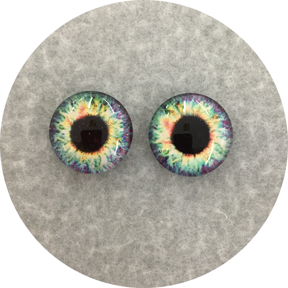 Far Out Cabochon Iris Puppet Eyes 19mm