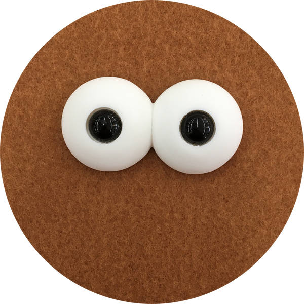 Double Polished Puppet Eyes with Pupils