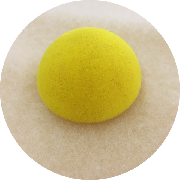 Yellow flocked nose 45mm
