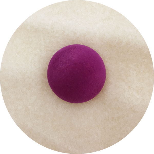 Purple flocked nose 45mm