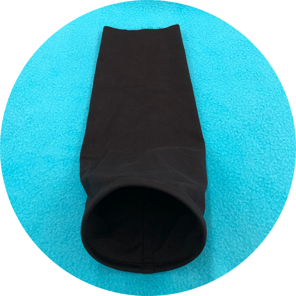 Swazzle Neck Sleeves- BLACK