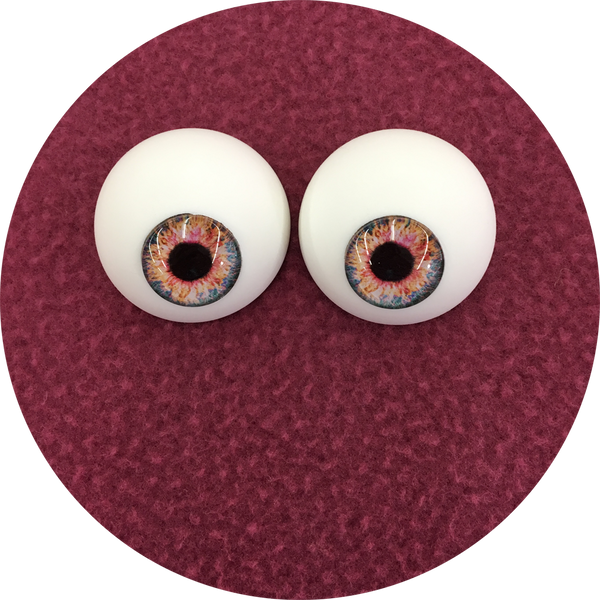 Mary Jane Cabochon Puppet Eyes 44mm