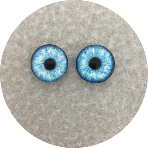Pool Cabochon Iris Puppet Eyes 19mm