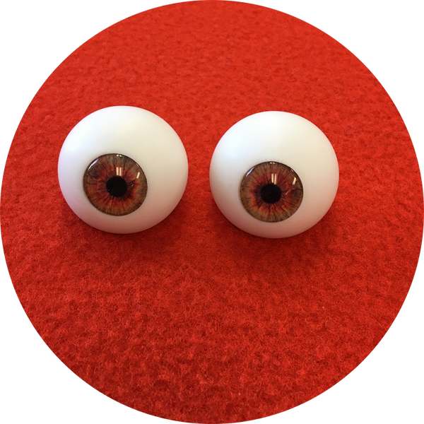 Autumn Cabochon Puppet Eyes 44mm