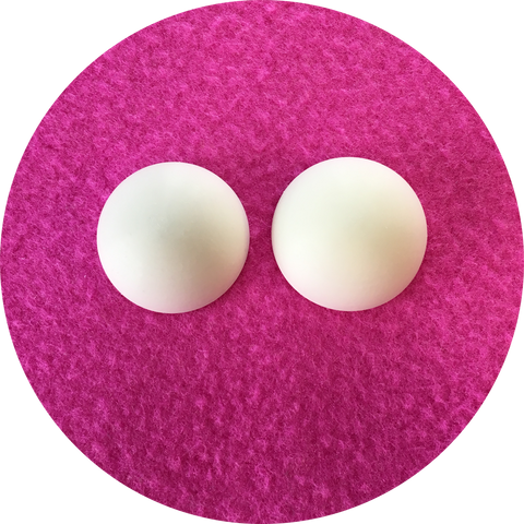 Blank Domed Puppet Eyes 45mm