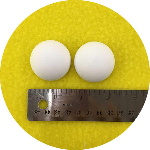 Blank Domed Puppet Eyes 40mm