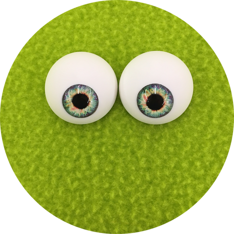 Far Out Cabochon Puppet Eyes 44mm