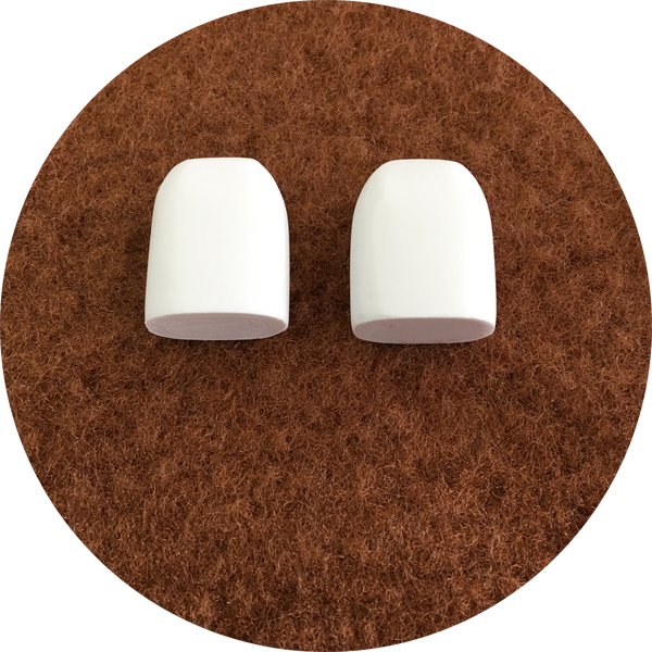 Polished Front Teeth: Set of 2