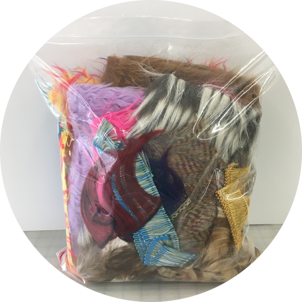 Fur Scrap Pack- 2 gallon bag