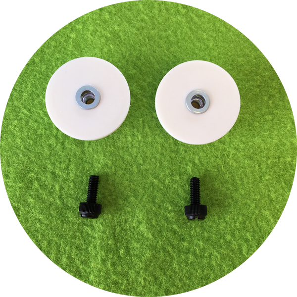 Green Cabochon Puppet Eyes 44mm