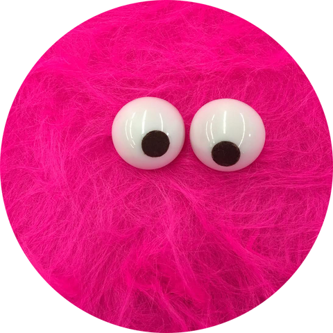 "Hot Pink Shag Faux Fur 18"" x 60"""