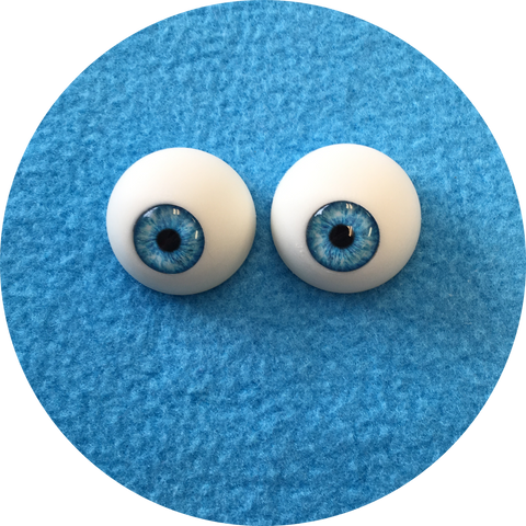 Pool Cabochon Puppet Eyes 44mm