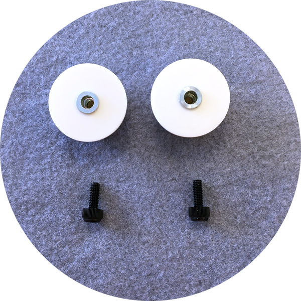 Rainbow Cabochon Puppet Eyes 44mm