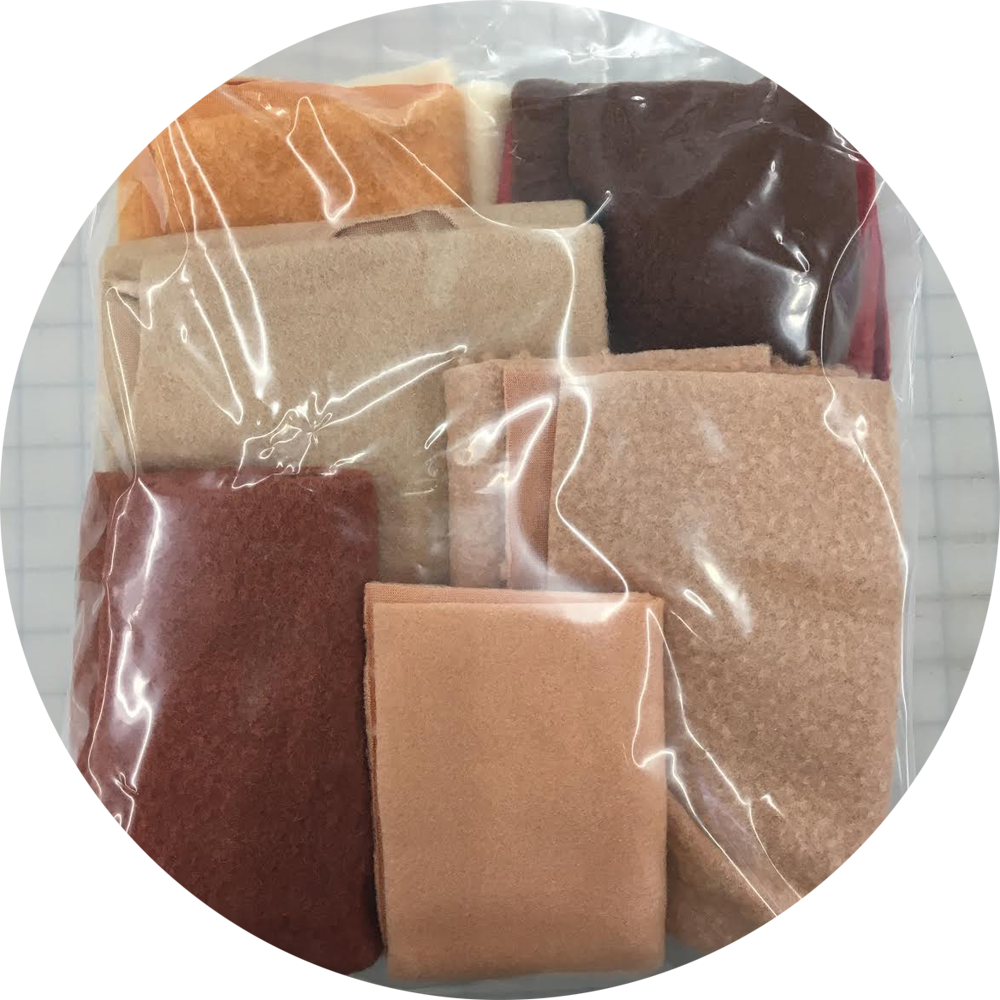 Skin Tone Scrap Pack- 2 gallon bag
