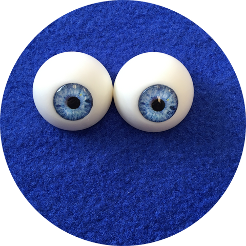 Sky Cabochon Puppet Eyes 44mm