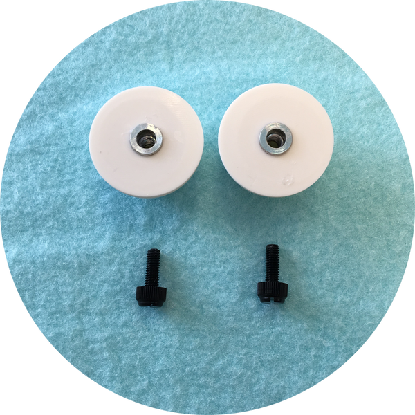 Teal Cabochon Puppet Eyes 44mm