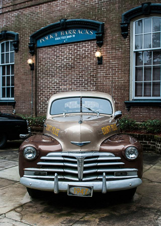 1947 Chevy Police Car, Savannah Georgia Fine Art Print Lost Kat Photography