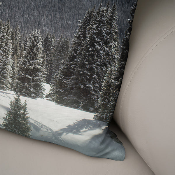 Colorado Mountain Throw Pillow Cover- 5 Sizes