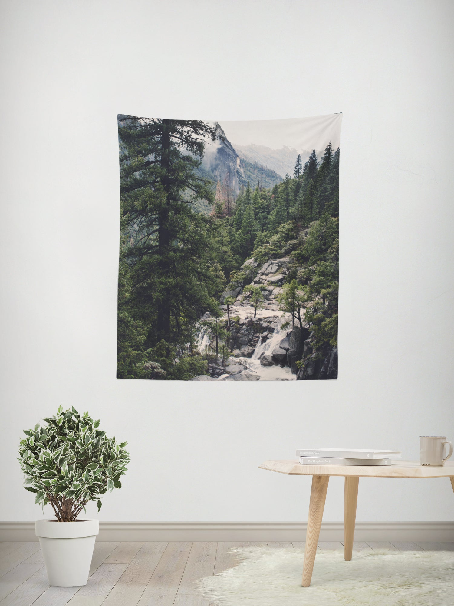 Great Foggy Wilderness Wall Hanging