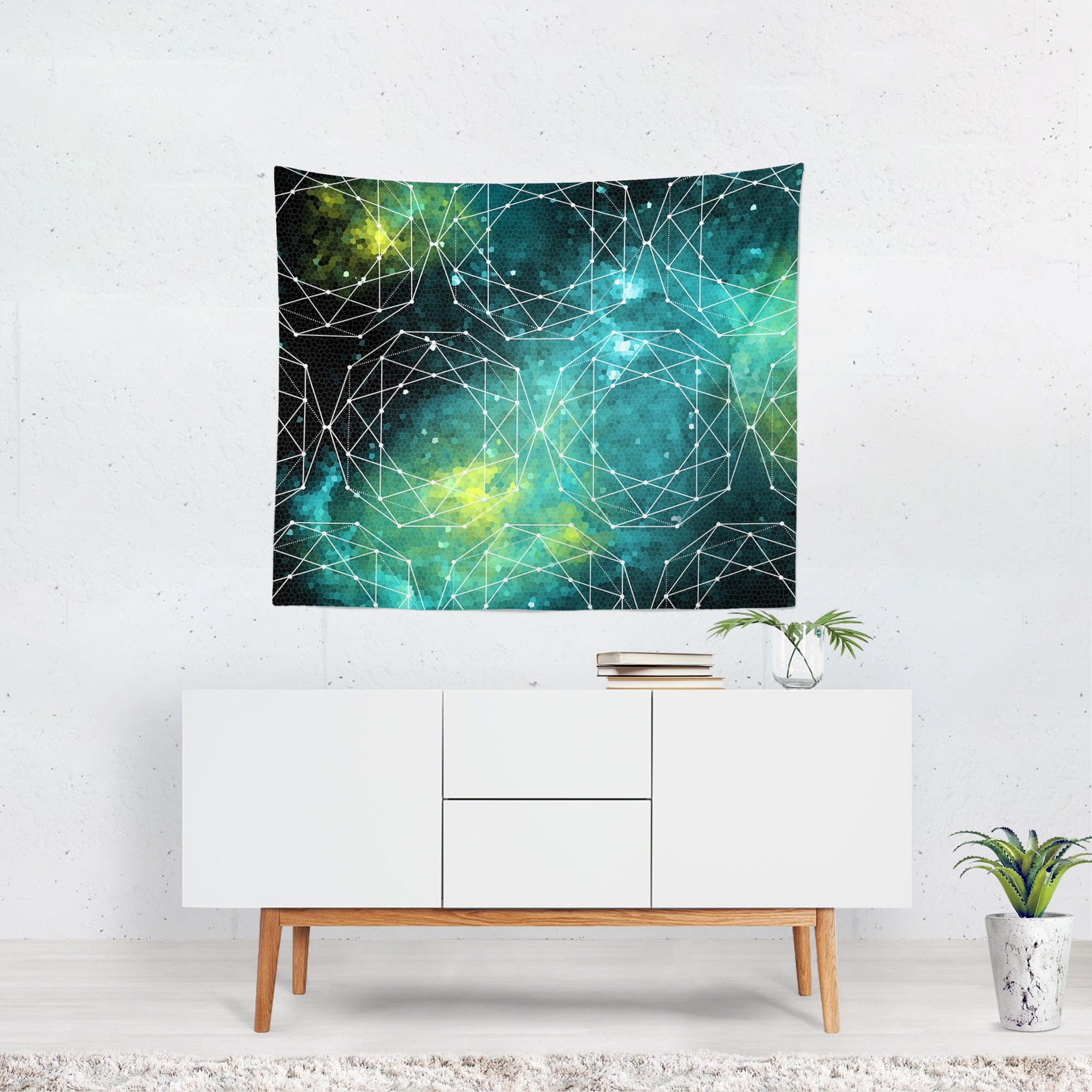 Geometric Space Wall Hanging