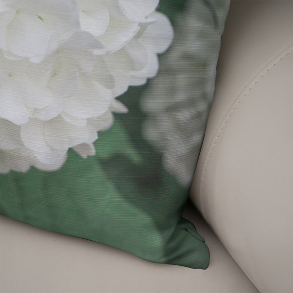 Hydrangea Flower Floral Throw Pillow Cover- 5 Sizes