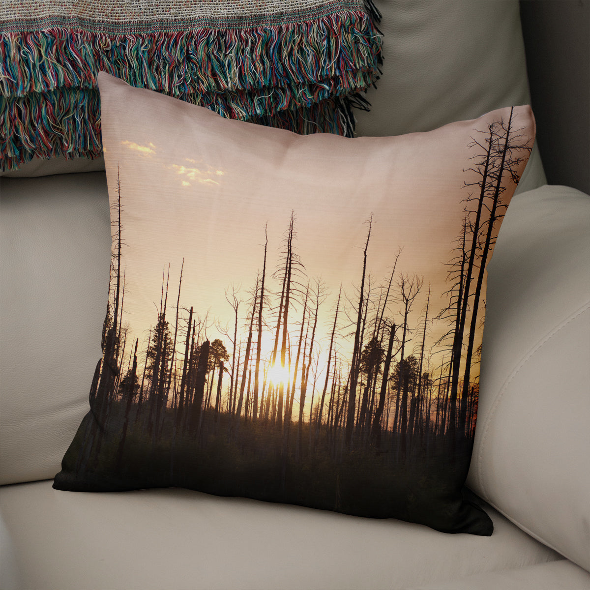 Grand Canyon Sunset Decorative Throw Pillow - 5 Sizes