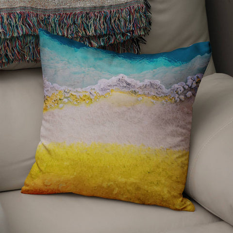Abstract Mineral Texture III Throw Pillow Cover Lost in Nature