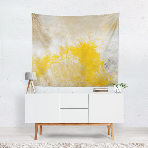 Abstract Mineral Texture Wall Hanging Lost in Nature