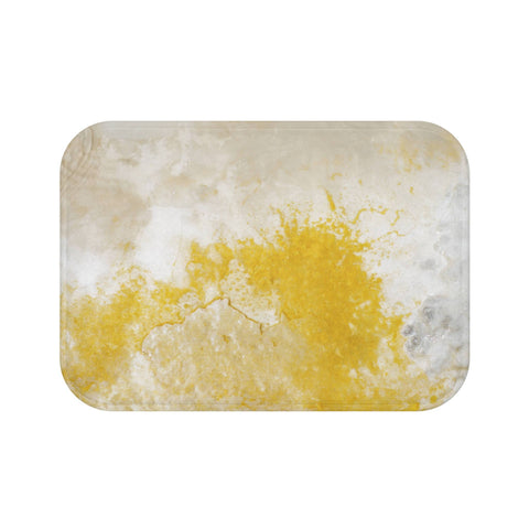 Abstract Minerals Memory Foam Bath Mat Lost in Nature
