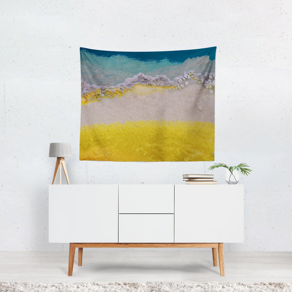 Abstract Texture Ocean Wall Tapestry - 4 Sizes Lost In Nature