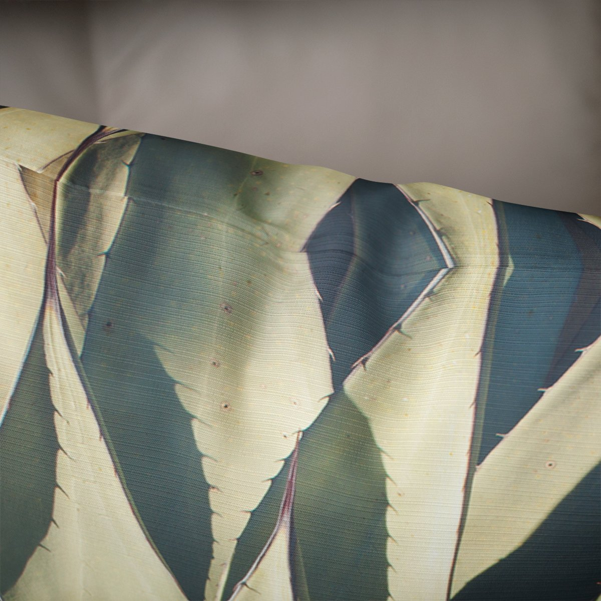 Agave Plant Green Throw Pillow Cover- 5 Sizes Lost In Nature