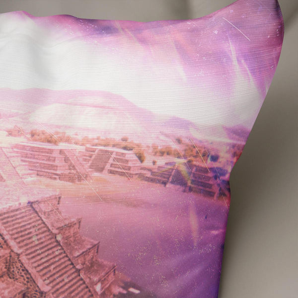 Apocalypse Pyramids Decorative Throw Pillow Cover- 5 Sizes Lost In Nature