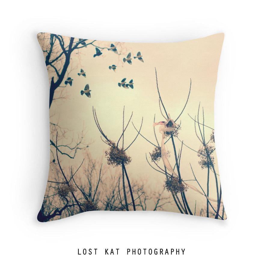 "Austin Dreams 18"" Throw Pillow Lost In Nature"