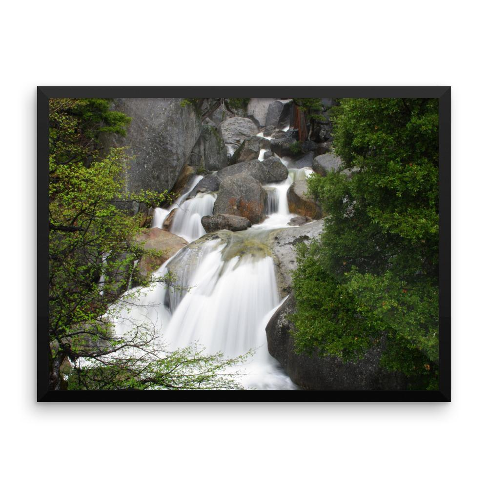 Bridal Veil Waterfall, California - Framed Photo Print 8×10 Lost Kat Photography