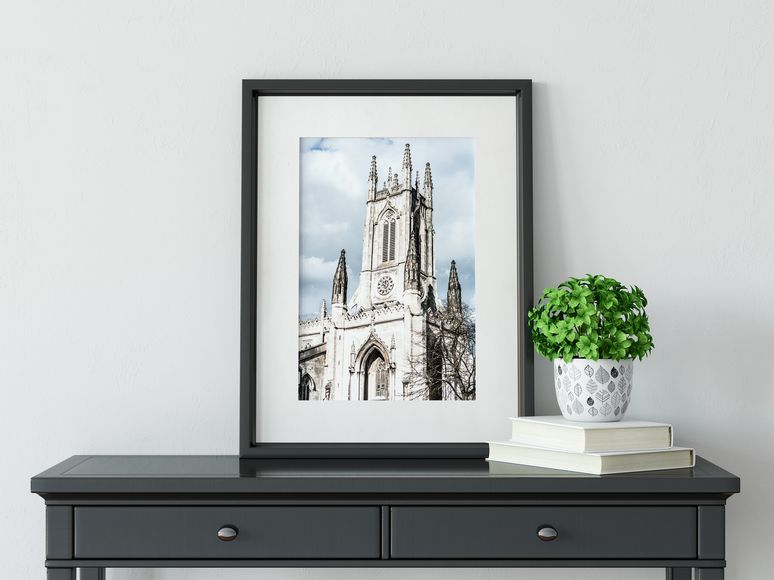 St Peter's Church, Brighton England Wall Art Print
