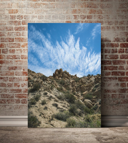 California Desert Sky, Fine Art Nature Photography Lost Kat Photography