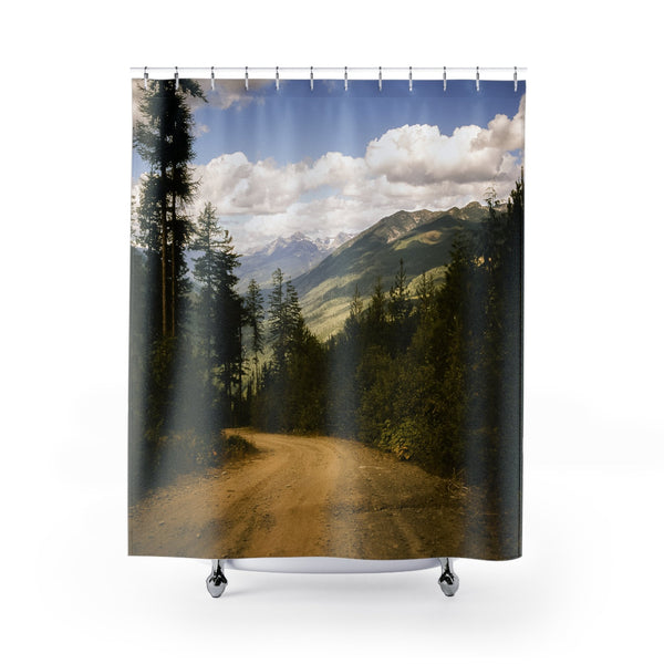 Canada Lookout Road Shower Curtains 71x74 Printify