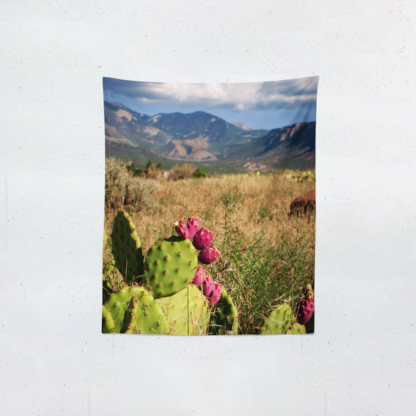 Castle Valley, Utah Wall Tapestry Lost In Nature