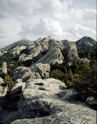The Grey Horizon, City of Rocks, Idaho Fine Art Photo