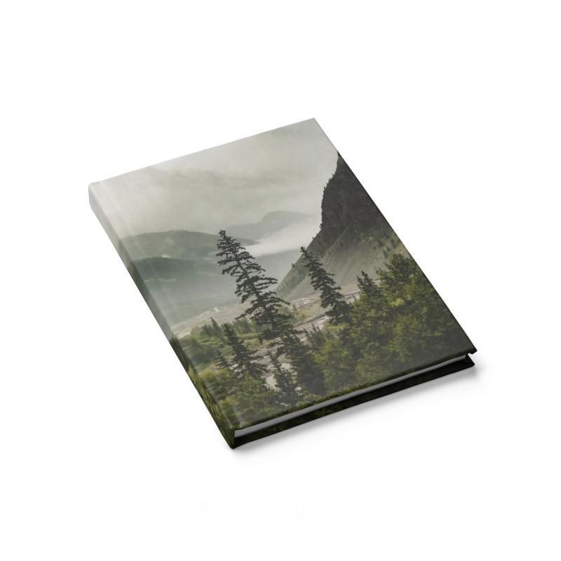 Colorado Mountain Valley - 128 Page Hard Cover Journal Journal / Lined Lost In Nature
