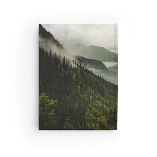 Colorado Mountain Valley - 128 Page Hard Cover Journal Lost In Nature