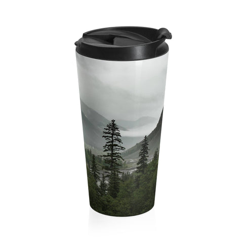 Colorado Mountain Valley Travel Mug - Stainless Steel Lost in Nature