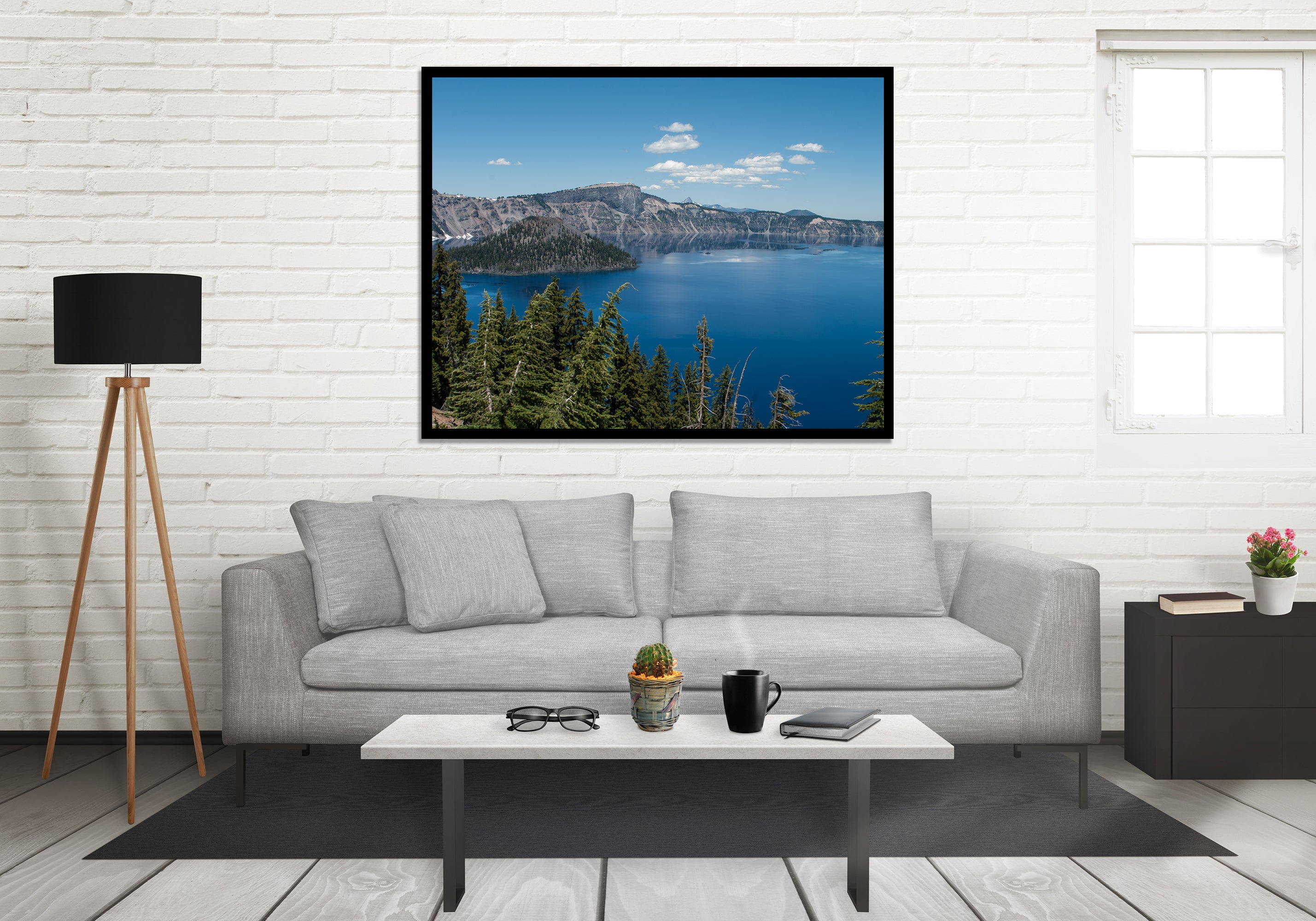 The Deep Blue, Crater Lake, Oregon Fine Art Print
