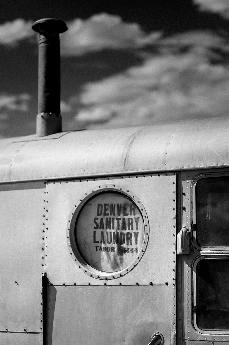 Denver Sanitary Laundry, Utah Ghost Town Photography