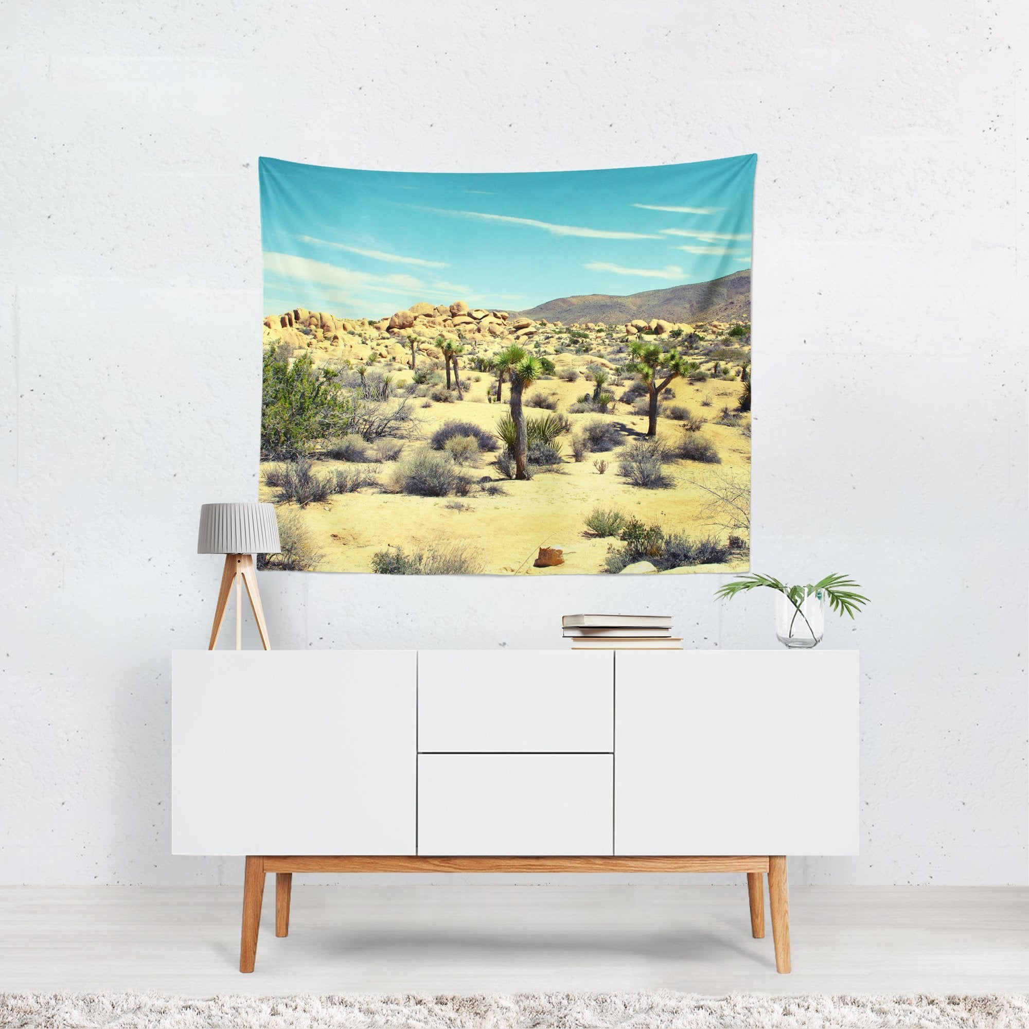 Desert Decadence, Joshua Tree Wall Tapestry Lost In Nature