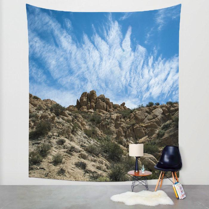 Desert Sky, California Wall Tapestry Lost In Nature