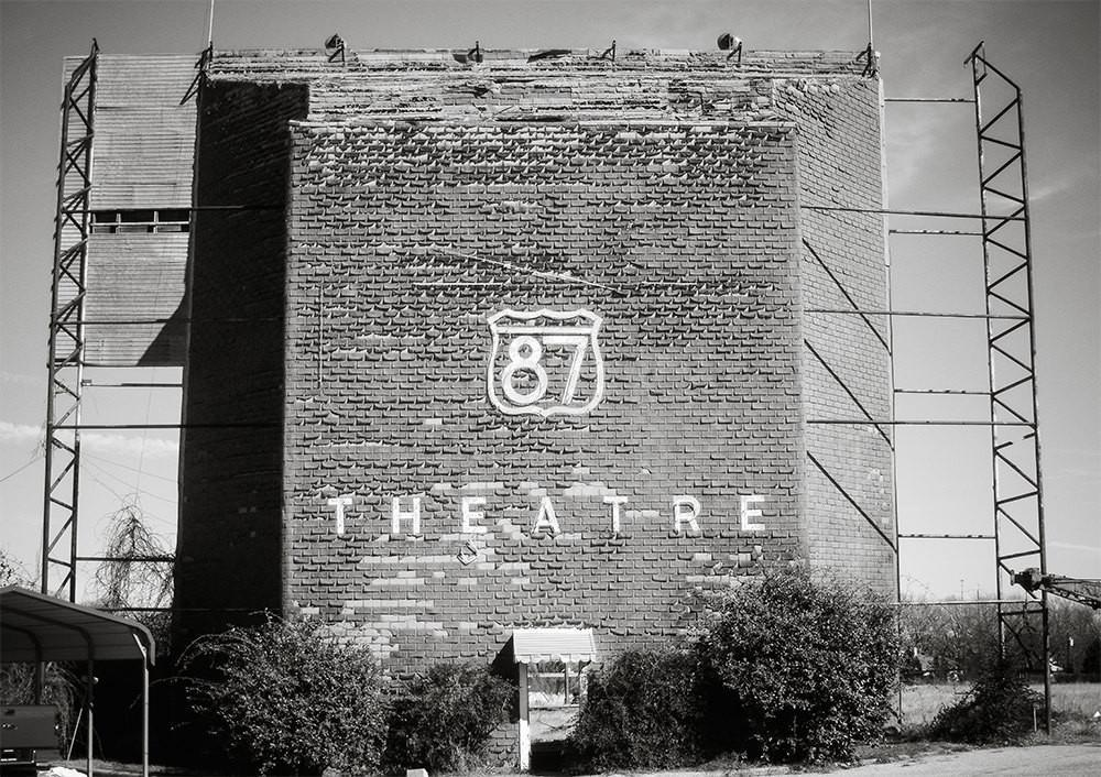 Drive-in Theater, Fredricksburg Texas Photography Lost Kat Photography