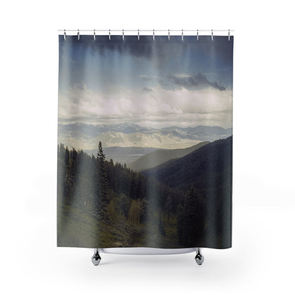 Endless Mountains Shower Curtains Printify